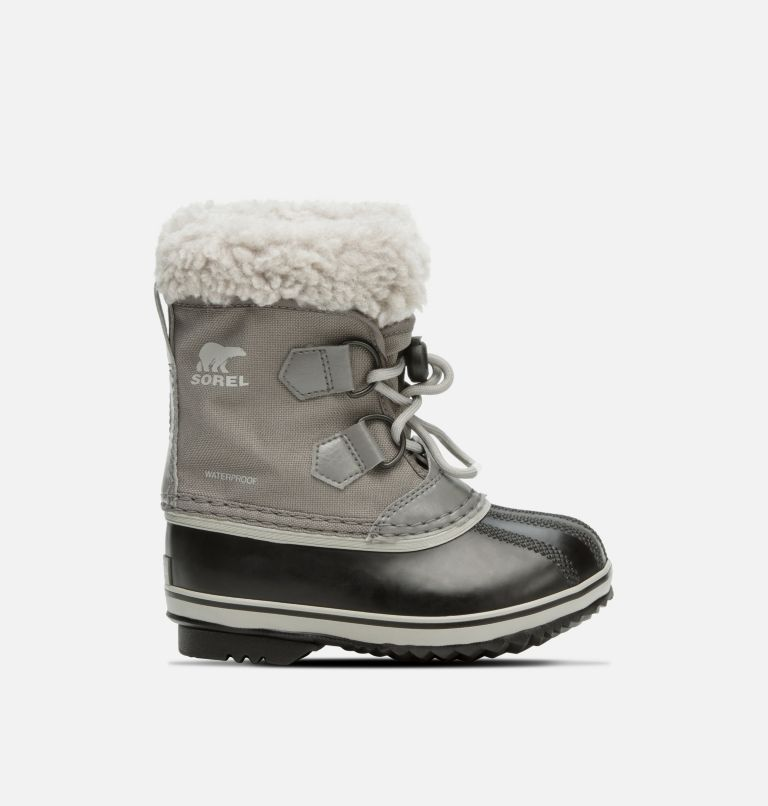 CHILDRENS YOOT PAC™ NYLON | 053 | 9 Kids' Yoot Pac™ Nylon Boot, Quarry, Dove, front