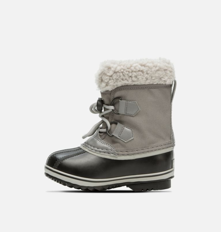 CHILDRENS YOOT PAC™ NYLON | 053 | 9 Kids' Yoot Pac™ Nylon Boot, Quarry, Dove, medial