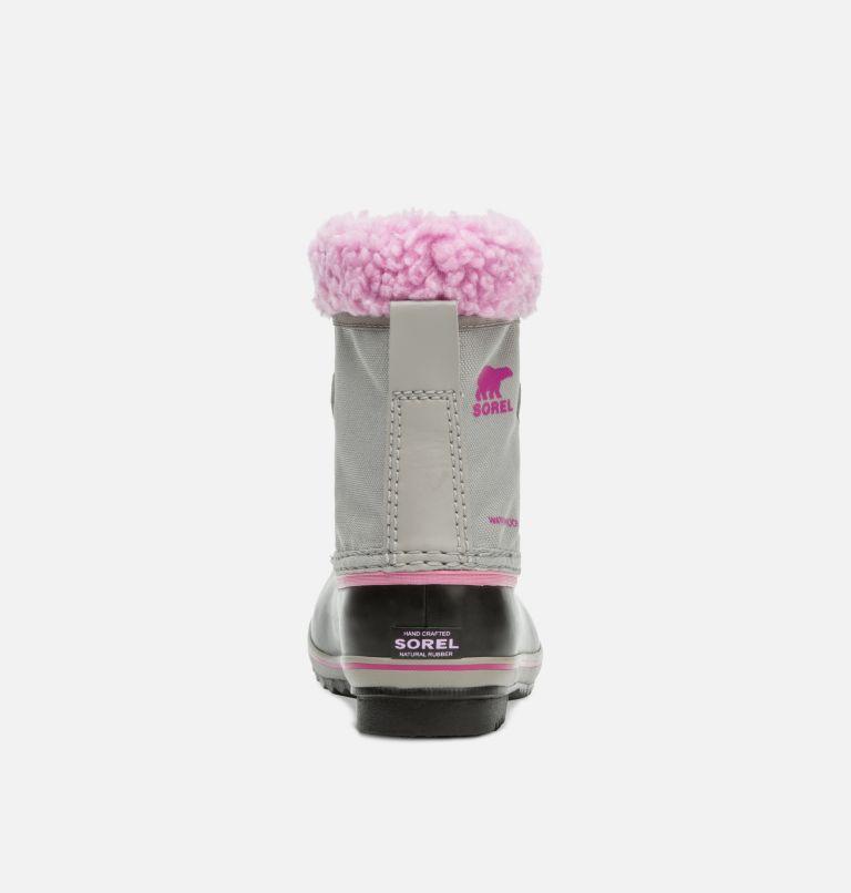 CHILDRENS YOOT PAC™ NYLON | 061 | 8 Children's Yoot Pac™ Nylon Boot, Chrome Grey, Orchid, back