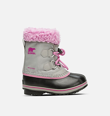 Botte Yoot Pac™ en nylon enfant CHILDRENS YOOT PAC™ NYLON | 053 | 10, Chrome Grey, Orchid, front