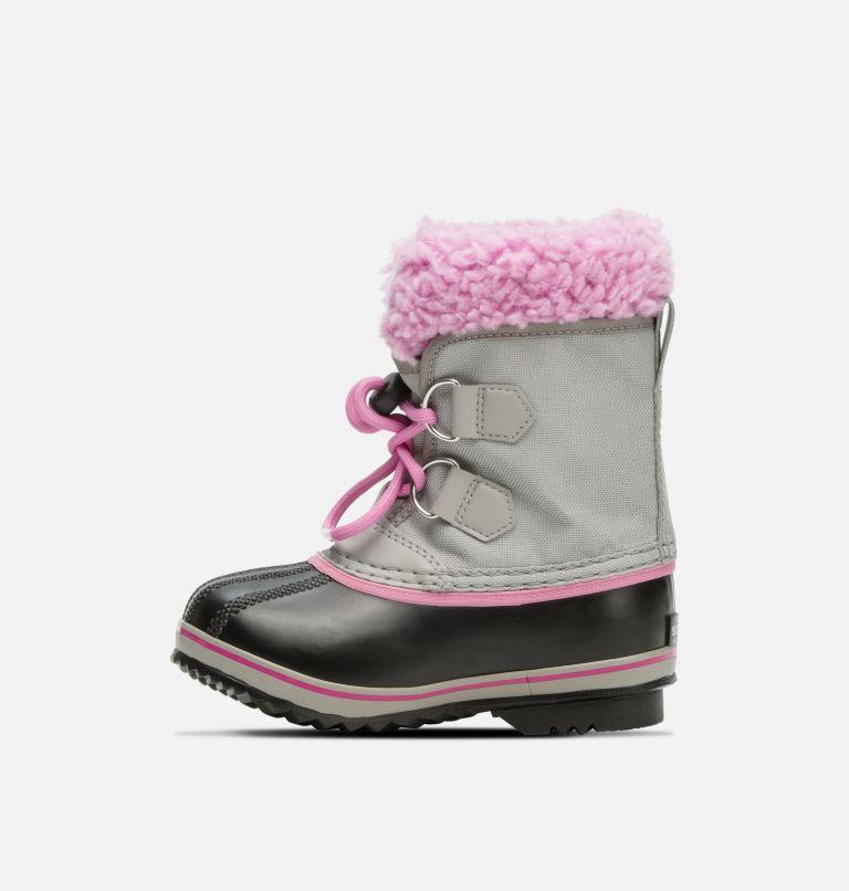 CHILDRENS YOOT PAC™ NYLON | 061 | 8 Children's Yoot Pac™ Nylon Boot, Chrome Grey, Orchid, medial