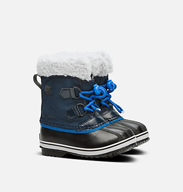 Childrens Yoot Pac™ Nylon Boot CHILDRENS YOOT PAC™ NYLON | 053 | 10, Collegiate Navy, Super Blue, 3/4 front