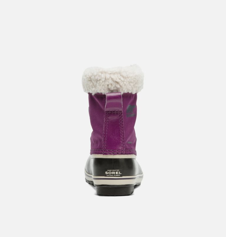 CHILDRENS YOOT PAC™ NYLON | 594 | 13 Childrens Yoot Pac™ Nylon Boot, Wild Iris, Dark Plum, back