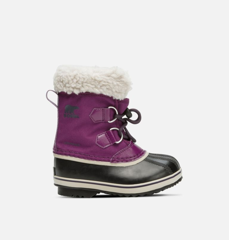 CHILDRENS YOOT PAC™ NYLON | 594 | 13 Childrens Yoot Pac™ Nylon Boot, Wild Iris, Dark Plum, front