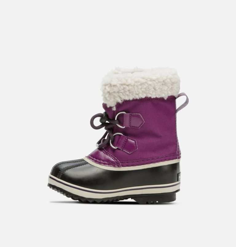 CHILDRENS YOOT PAC™ NYLON | 594 | 13 Childrens Yoot Pac™ Nylon Boot, Wild Iris, Dark Plum, medial