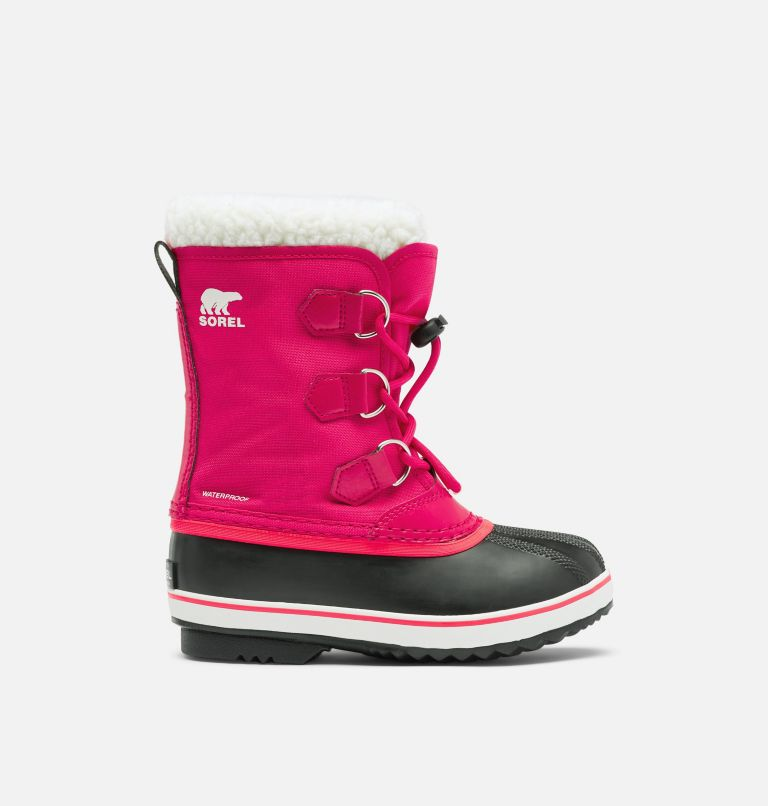 CHILDRENS YOOT PAC™ NYLON | 600 | 8 Childrens Yoot Pac™ Nylon Boot, Bright Rose, front