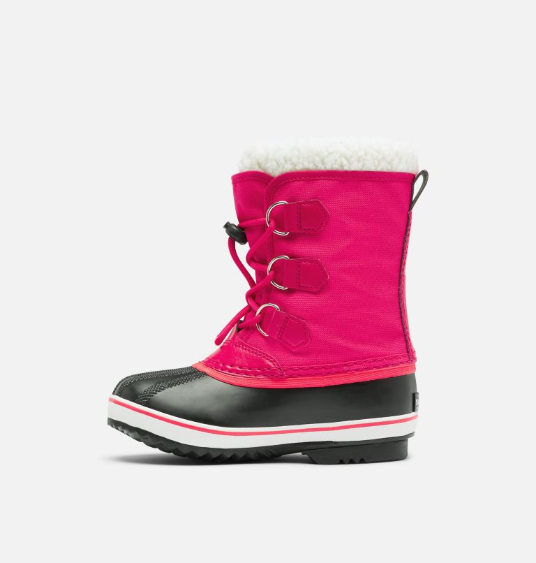 CHILDRENS YOOT PAC™ NYLON | 600 | 8 Childrens Yoot Pac™ Nylon Boot, Bright Rose, medial