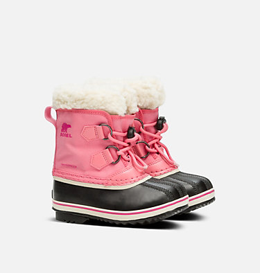 Botte Yoot Pac™ en nylon enfant CHILDRENS YOOT PAC™ NYLON | 053 | 10, Lollipop, Pink Glo, 3/4 front