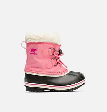 Botte Yoot Pac™ en nylon enfant CHILDRENS YOOT PAC™ NYLON | 053 | 10, Lollipop, Pink Glo, front