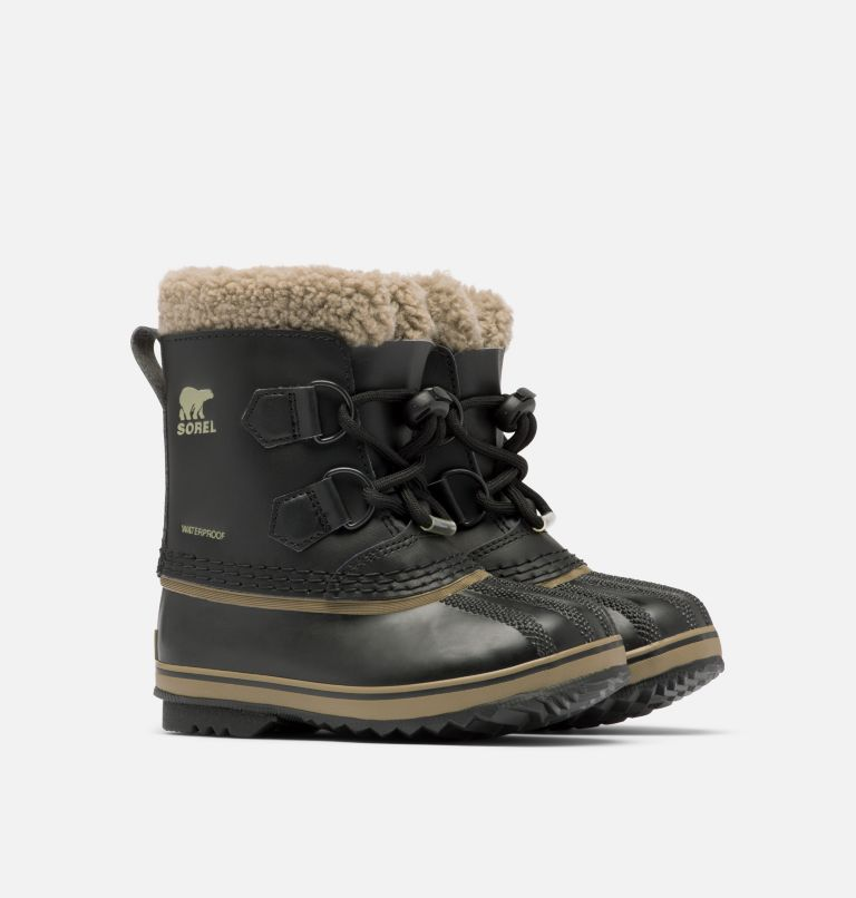 CHILDRENS YOOT PAC™ TP | 013 | 11 Children's Yoot Pac™ TP Boot, Black, 3/4 front