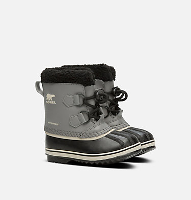 Kids' Yoot Pac™ Tp Boot CHILDRENS YOOT PAC™ TP | 259 | 10, Quarry, Black, 3/4 front