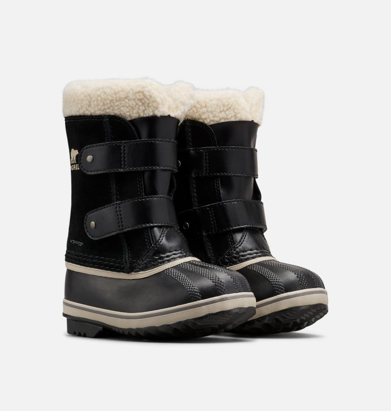 CHILDRENS 1964 PAC™ STRAP   010   12 Children's 1964 Pac™ Strap Boot, Black, 3/4 front
