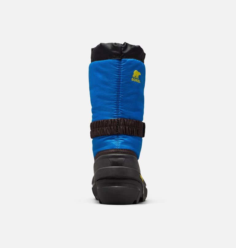 YOUTH FLURRY™ | 014 | 5 Youth Flurry™ Boot, Black, Super Blue, back