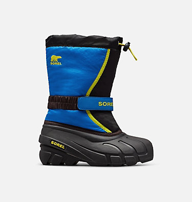 Botte de neige Flurry™ pour les jeunes YOUTH FLURRY™ | 562 | 1, Black, Super Blue, front