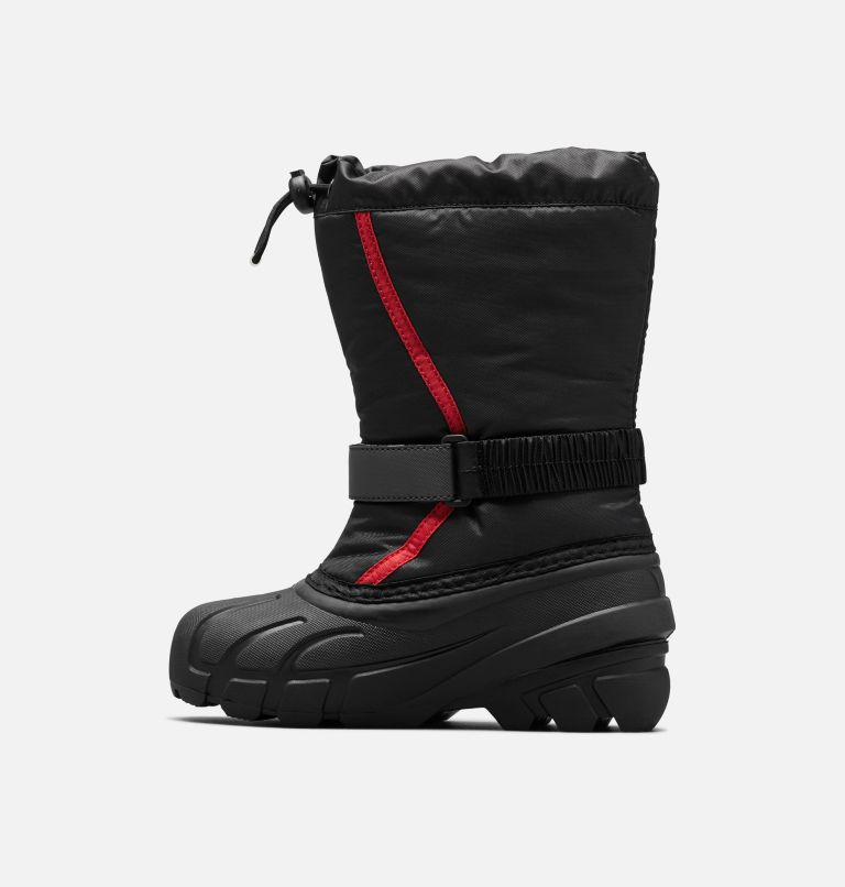 YOUTH FLURRY™ | 015 | 1 Botte Flurry™ junior, Black, Bright Red, medial