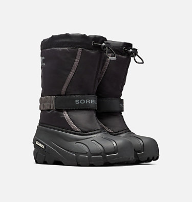 Youth Flurry™ Boot YOUTH FLURRY™ | 562 | 1, Black, City Grey, 3/4 front