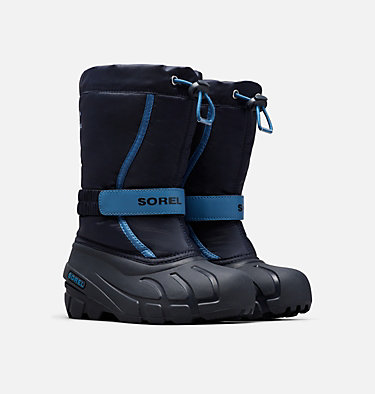 Botte de neige Flurry™ pour les jeunes YOUTH FLURRY™ | 562 | 1, Collegiate Navy, Atmosphere, 3/4 front