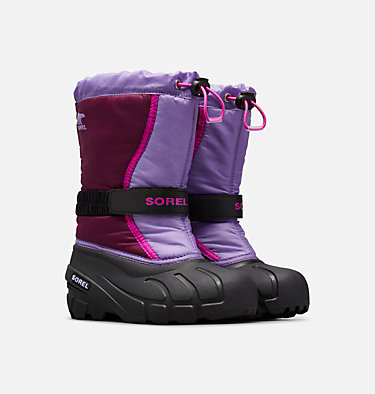 Botte de neige Flurry™ pour les jeunes YOUTH FLURRY™ | 562 | 1, Purple Dahlia, Paisley Purple, 3/4 front