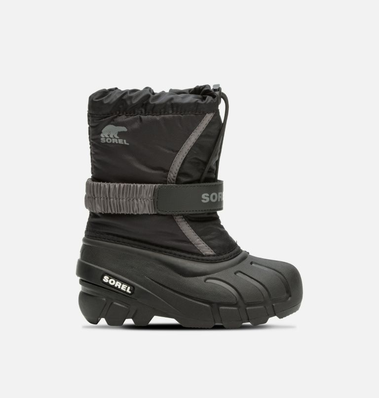 CHILDRENS FLURRY™ | 016 | 9 Childrens Flurry™ Boot, Black, City Grey, front