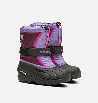 Childrens Flurry™ Boot CHILDRENS FLURRY™ | 562 | 10, Purple Dahlia, Paisley Purple, 3/4 front