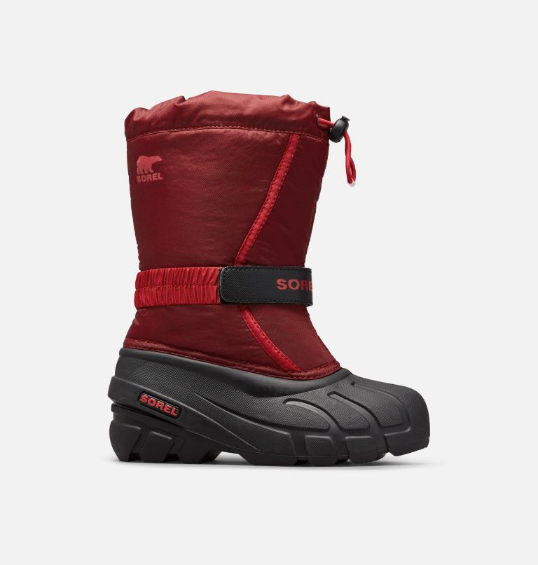 CHILDRENS FLURRY™ | 664 | 8 Childrens Flurry™ Boot, Red Jasper, Mountain Red, front