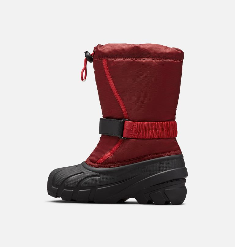 CHILDRENS FLURRY™ | 664 | 8 Childrens Flurry™ Boot, Red Jasper, Mountain Red, medial