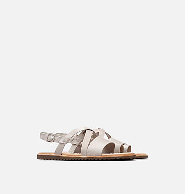 Women's Ella™ Criss Cross Sandal ELLA™ CRISS CROSS | 125 | 5, Dove, 3/4 front