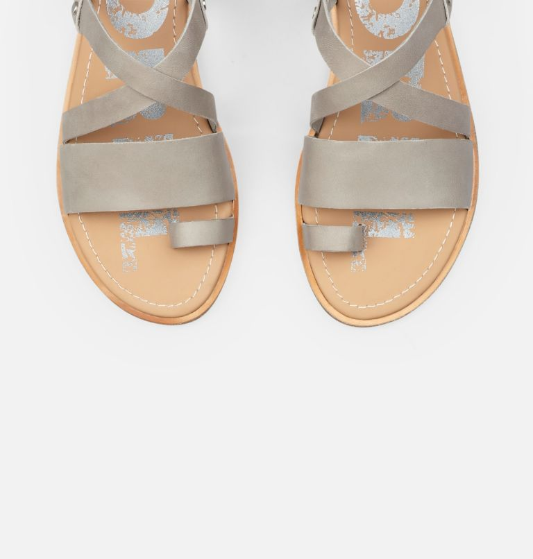 ELLA™ CRISS CROSS | 081 | 10 Women's Ella™ Criss Cross Sandal, Dove, top
