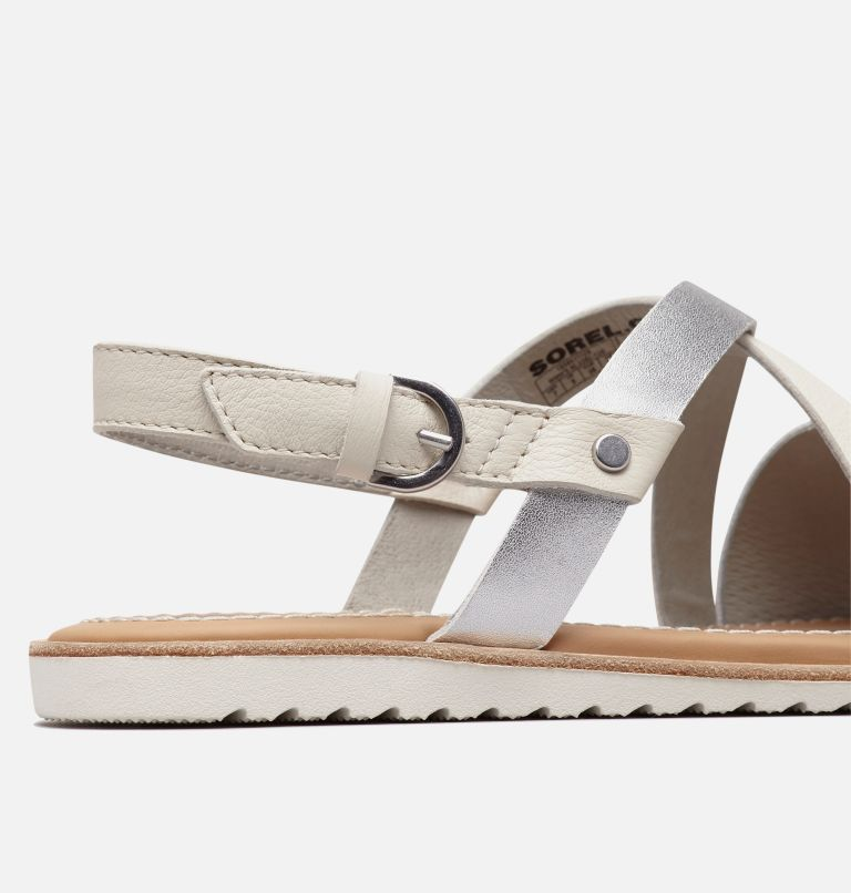 ELLA™ CRISS CROSS | 125 | 5 Women's Ella™ Criss Cross Sandal, Sea Salt, a1