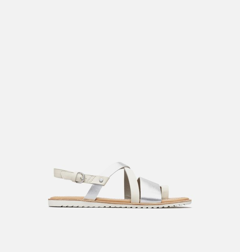ELLA™ CRISS CROSS | 125 | 5 Women's Ella™ Criss Cross Sandal, Sea Salt, front