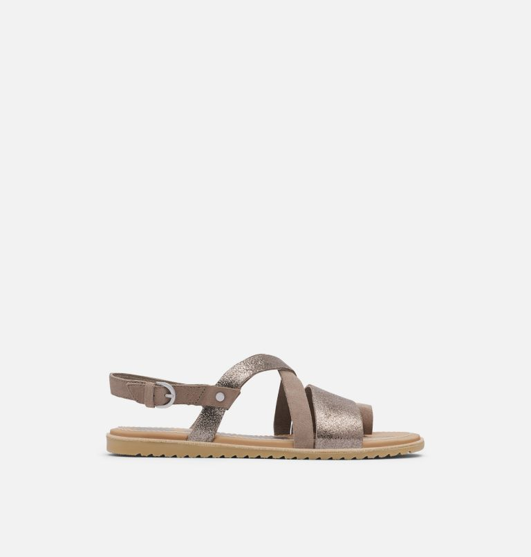 ELLA™ CRISS CROSS | 240 | 10 Women's Ella™ Criss Cross Sandal, Ash Brown, front