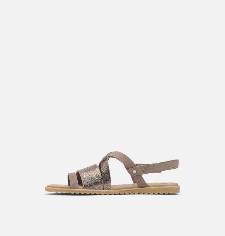 ELLA™ CRISS CROSS | 240 | 9 Women's Ella™ Criss Cross Sandal, Ash Brown, medial