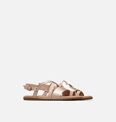 Sandali Ella™ Criss Cross da donna ELLA™ CRISS CROSS | 125 | 5, Natural Tan, 3/4 front