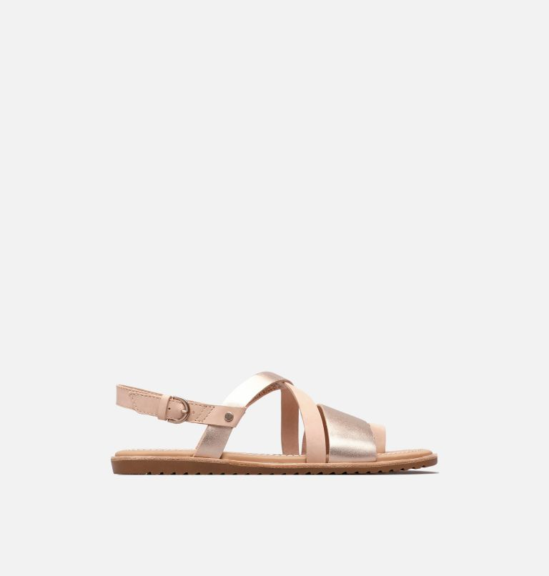 ELLA™ CRISS CROSS | 257 | 10 Women's Ella™ Criss Cross Sandal, Natural Tan, front