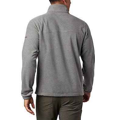 Men's Collegiate Flanker™ III Fleece Jacket - Texas A&M CLG Flanker™ III Fleece Jacket | 099 | S, TAM - Charcoal, back