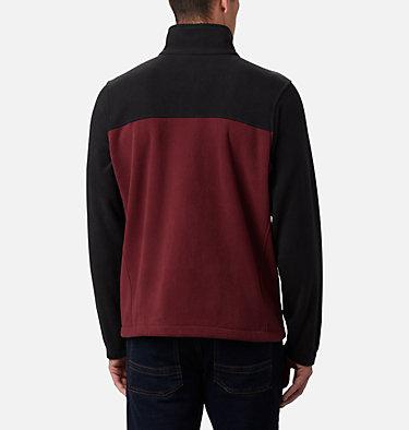 Men's Collegiate Flanker™ III Fleece Jacket - Texas A&M CLG Flanker™ III Fleece Jacket | 099 | S, TAM - Black, Deep Maroon, back