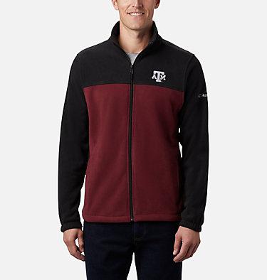 Men's Collegiate Flanker™ III Fleece Jacket - Texas A&M CLG Flanker™ III Fleece Jacket | 099 | S, TAM - Black, Deep Maroon, front
