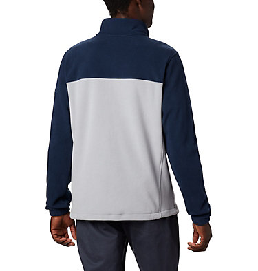 Men's Collegiate Flanker™ III Fleece Jacket - Penn State CLG Flanker™ III Fleece Jacket | 412 | L, PSU - Collegiate Navy, Columbia Grey, back