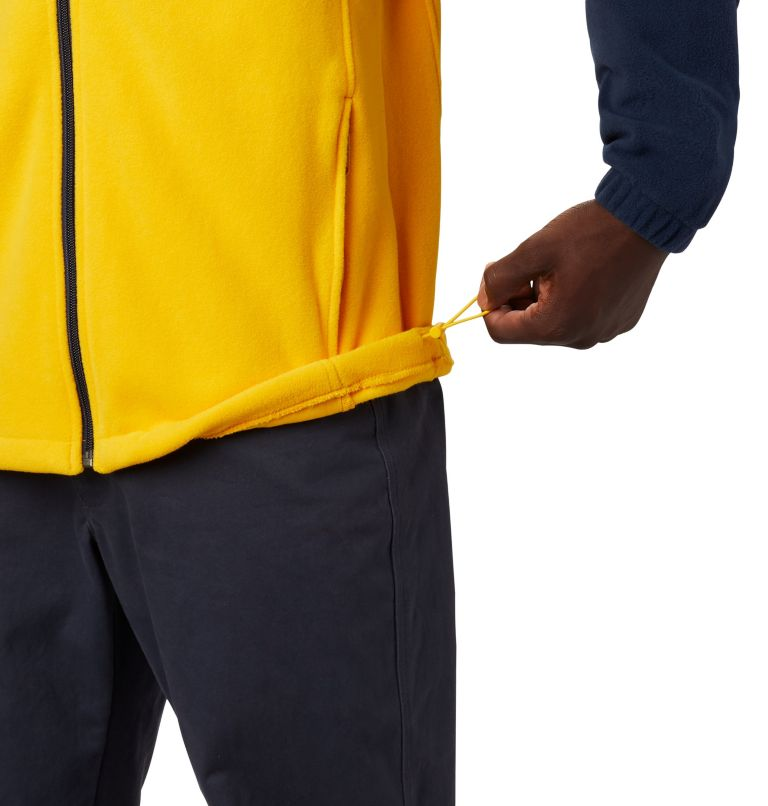 CLG Flanker™ III Fleece Jacket | 424 | XS Men's Collegiate Flanker™ III Fleece Jacket - Michigan, UM - Collegiate Navy, Collegiate Yellow, a3