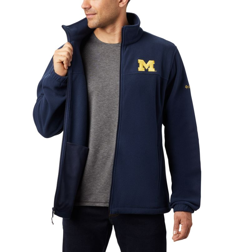 Men's Collegiate Flanker™ III Fleece Jacket - Michigan Men's Collegiate Flanker™ III Fleece Jacket - Michigan, a4