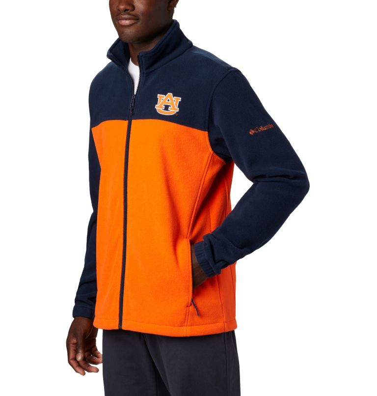 Men's Collegiate Flanker™ III Fleece Jacket - Auburn Men's Collegiate Flanker™ III Fleece Jacket - Auburn, a1