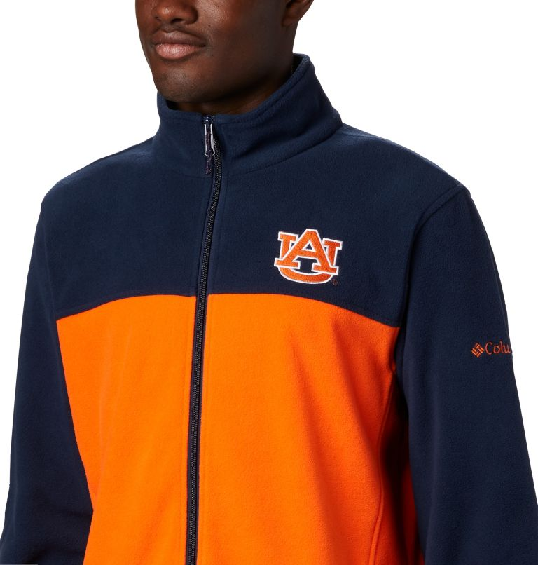 Men's Collegiate Flanker™ III Fleece Jacket - Auburn Men's Collegiate Flanker™ III Fleece Jacket - Auburn, a2