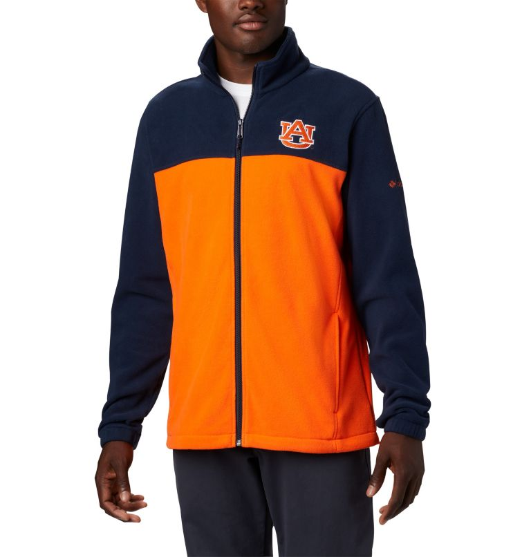 Men's Collegiate Flanker™ III Fleece Jacket - Auburn Men's Collegiate Flanker™ III Fleece Jacket - Auburn, front
