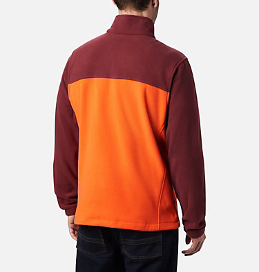 Men's Collegiate Flanker™ III Fleece Jacket - Virginia Tech CLG Flanker™ III Fleece Jacket | 639 | M, VT - Deep Maroon, Tangy Orange, back