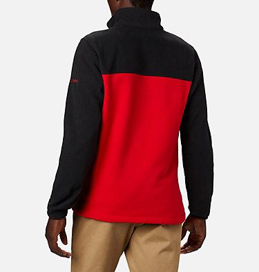 Men's Collegiate Flanker™ III Fleece Jacket - Georgia CLG Flanker™ III Fleece Jacket | 772 | L, UGA - Black, Bright Red, back