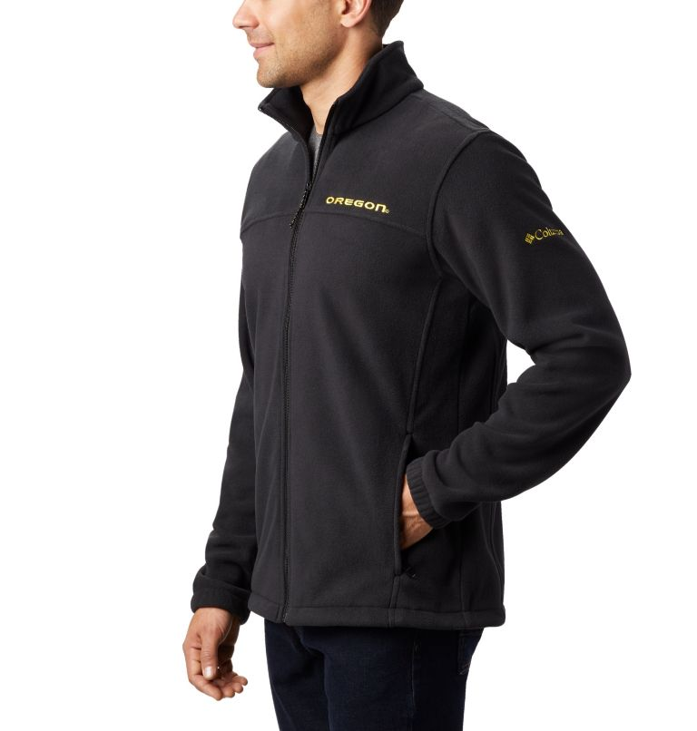 Men's Collegiate Flanker™ III Fleece Jacket - Oregon Men's Collegiate Flanker™ III Fleece Jacket - Oregon, a2