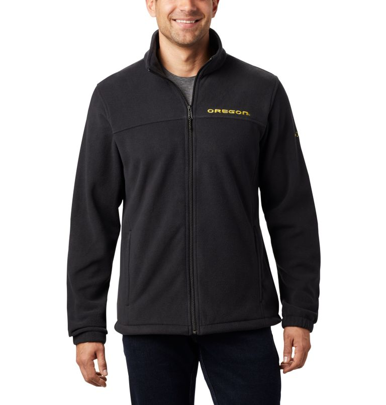 Men's Collegiate Flanker™ III Fleece Jacket - Oregon Men's Collegiate Flanker™ III Fleece Jacket - Oregon, front