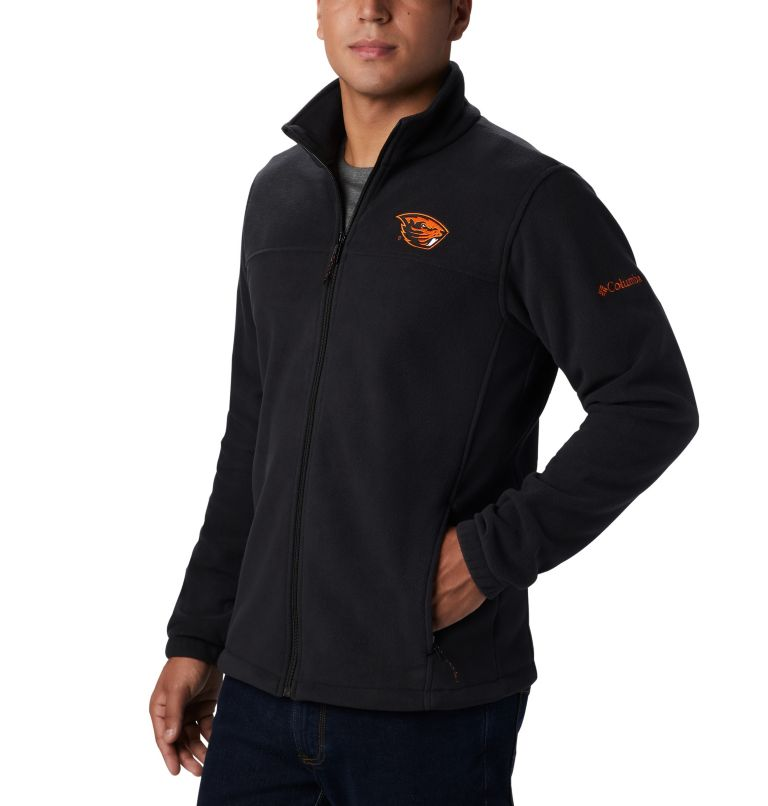 CLG Flanker™ III Fleece Jacket | 976 | M Men's Collegiate Flanker™ III Fleece Jacket - Oregon State, OSU - Black, a1