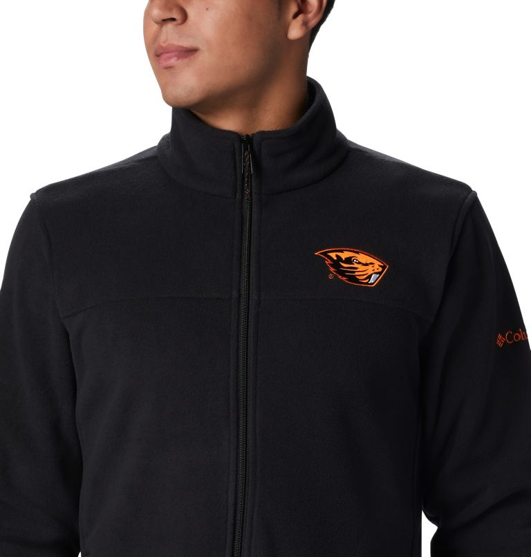 CLG Flanker™ III Fleece Jacket | 976 | M Men's Collegiate Flanker™ III Fleece Jacket - Oregon State, OSU - Black, a2