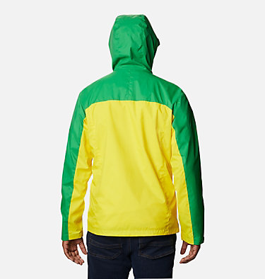 Men's Collegiate Glennaker Storm™ Jacket - Oregon CLG Men's Glennaker Storm™ Jac | 346 | L, UO - Fuse Green, Yellow Glo, back